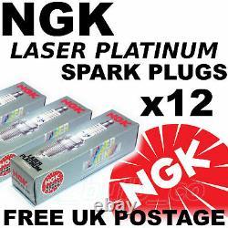 12x NGK Laser Platine Allumage Bougies BMW 750 5.4 Lt E38 95 N°3199