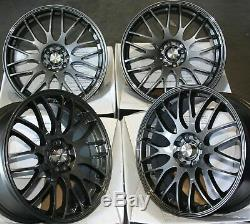 17 GM Motion Roues Alliage pour 4X100 BMW Mini R50 R52 R55 R56 R57 R58 R59
