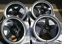 18 Noir F7 Roues Alliage Pour BMW E36 Mini Countryman Paceman Jc R60 R61