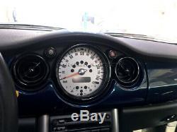 2001-2006 BMW Mini Cooper/S / One R50 R52 R53 Noir Intérieur Cadran Kit de