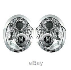 2 Feux Phare Avant Angel Eyes Bmw Mini Cooper & Mini One R50 R52 R53