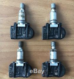 4 BMW Capteurs de Pression de Pneu Rdci 433 Mhz 1 F20 3 F30 4 X5 F15 6855539 Top