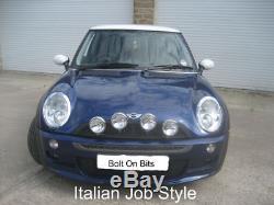 4 Italien Job Wipac Inox Lampe Spot Kit BMW Mini to2006
