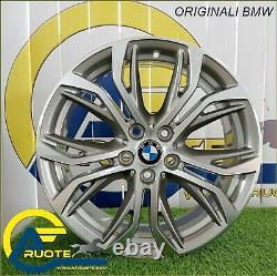 4 Jantes en Alliage Style 566 18 Original BMW Serie 1 F40 F45 X1 F48 X2 X3 G01