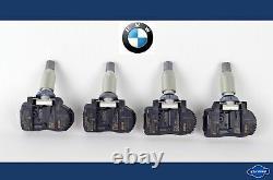 4x BMW 1er 2er 3er X5 X6 CAPTEUR de pression PNEUS original TPMS