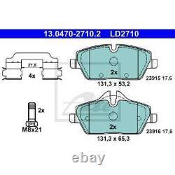 ATE Plaquette de Freins 13.0470-2710.2 Sabots de Frein BMW 1er E81