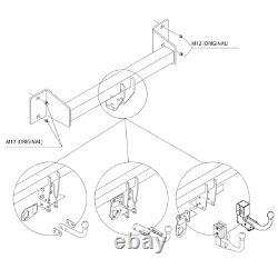 Amovible Attelage Fr Bmw Mini GRAN X1 COUNTRYMAN 06036/VM