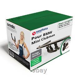 Attelage pour BMW Mini Clubman 10- Amovible Westfalia + Faisceau u. 7 broches