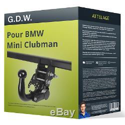 Attelage pour BMW Mini Clubman type F54 démontable sans outil G. D. W. VOITURE TOP
