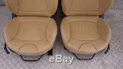 BMW MINI COOPER 1 R56 Sport Complètement en cuir beige intérieurs sièges avec