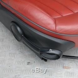 BMW MINI COOPER ONE R56 Sport Complètement en cuir rouge intérieurs sièges avec