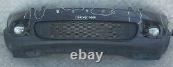 BMW Mini COOPER S R55 R56 R57 avant Complet Pare-Choc Bord Panneau Midnight Noir