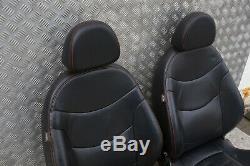 BMW Mini Cabriolet R52 Sport Noir Intérieur Cuir Sièges avec Airbag