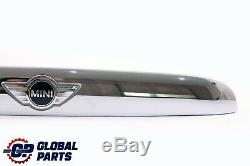 BMW Mini Cooper F55 F56 F57 Griffleiste Heckklappe Chrome 7362121