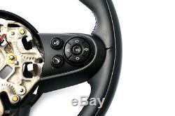 BMW Mini Cooper F55 F56 F60 Sport Cuir 3 Rayons Volant Multifonction