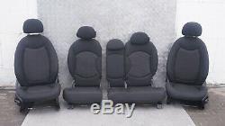 BMW Mini Cooper One 1 R60 Countryman Chiffon Intérieur Sièges Carbone Noir