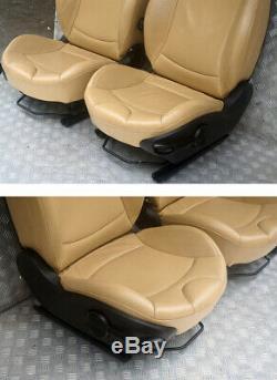 BMW Mini Cooper One 2 R56 Sports Complet Cuir Beige Intérieur Siège avec Airbag