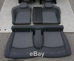 BMW Mini Cooper One F56 Tissu / Similicuir Intérieur Sport Sièges Carbone Noir