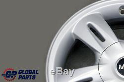 BMW Mini Cooper One R50 Argent Roue Alliage Jantes 15 Et 45 5,5J 5 Star
