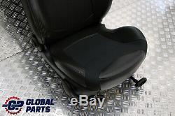 BMW Mini Cooper One R50 Tissu/Cuir Avant Droit O/S Tissu Siège Sport Noir