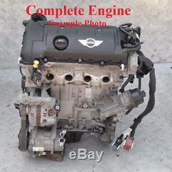 BMW Mini Cooper One R55 R56 R57 LCI R59 R60 Essence Vide Moteur N16B16A Garantie