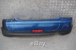 BMW Mini Cooper One R56 R57 Panneau Pare-Chocs Arrière Eclairage Bleu Métallisé
