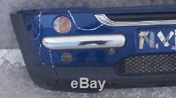 BMW Mini Cooper R50 Pare Choc avant Panneau Indi Bleu 862
