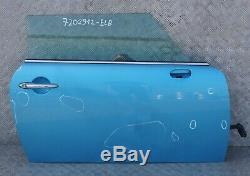 BMW Mini Cooper R50 R52 R53 avant Droit Porte O' / S Bleu Électrique 870