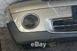 BMW Mini Cooper R55 R56 1 avant Complet Pare-Choc Bord Panneau Étincelant Argent