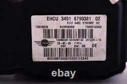 BMW Mini Cooper R55 R56 R57 ABS Dsc Pompe Hydro Freinage Unité 6790381 6790382