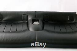 BMW Mini Cooper R55 R56 R57 Arrière Siège Canapé Bench Canapé Cuir Carbone Noir