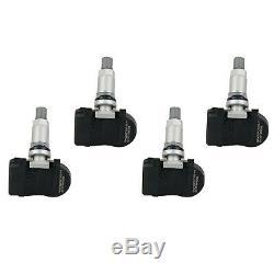 BMW Mini Module Jeu de Capteur de Pression des Pneus (4 Pcs) 36106855539