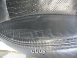 BMW Mini Noir Chauffé Punch Cuir Intérieur / Siège Set Véritable R56
