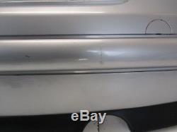 BMW Mini One/Cooper R50 Pré Tuning Pare-Chocs Arrière Uni Argent Métallique