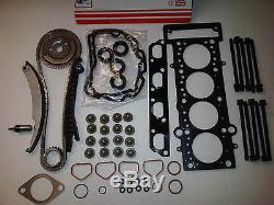 BMW Mini R50 52 53 1.6 2001-07 Kit Chaîne Distribution + Jeu de Joint Culasse &