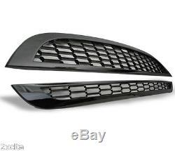 BMW Mini R50, R52, R53 01-06 Piano Noir Capot Pare-Choc Maille Dégriffé Gril Set