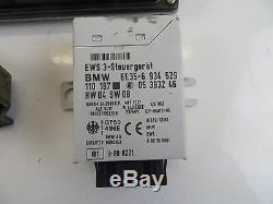 BMW Mini R52 Cooper Facelift Complet Écu Clé Kit Manuel 2004 Essence W10 7544834