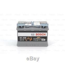 BOSCH Batterie de démarrage S5A pour AUDI BARREIROS BMW CITROËN DAF FORD HONDA