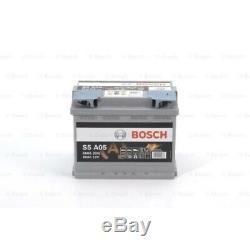 BOSCH Batterie de démarrage S5A pour AUDI BMW CITROËN MERCEDES-BENZ OPEL RENAULT
