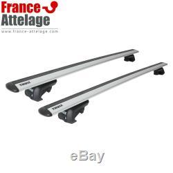 Barres de toit aluminium Thule WingBar EVO pour BMW Mini Countryman type F60