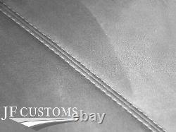 Blanc Point L Gris Suede Toit Couvrir Pour Bmw Mini R50 R53 01-06