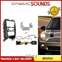 CTKBM02 Double din Carénage Direction Antenne Adaptateur Kit Pour BMW Mini