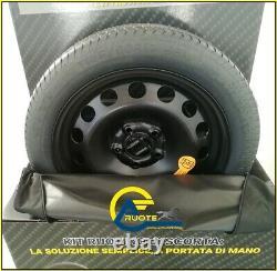 Galette de Secours Complet R004D 125 80 17 5X120 72,6 X BMW Serie 1 3 4 5 Mini