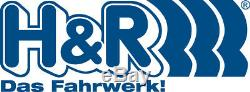H & R Entretoises de Roue ABE pour BMW i3 i8 2er 5er 7er Mini 30mm Noir