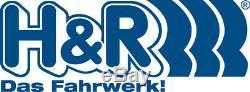 H & R Entretoises de Roue avant + Arrière ABE pour BMW i3 2er 5er 7er 24mm Noir