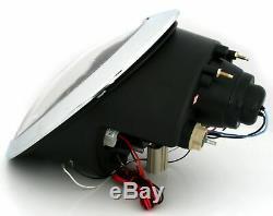 Hlavný svetlomet pre BMW MINI COOPER R50 R52 R53 01-06 Angel Eyes Chrome LPMC01E