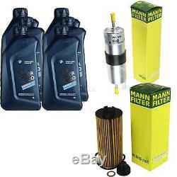 Inspection Set 6 L pour BMW Huile Twinpowerturbo 5W-30 Mini Clubman F54 10960121