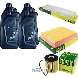Inspection Set 6 L pour BMW Huile Twinpowerturbo 5W-30 Mini R50 R53