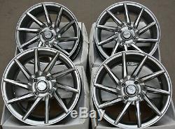Jantes en Alliage X4 15 GM Turbine 2 pour 4x100 BMW Mini R50 R52 R55 R56 R57
