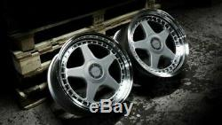 Jantes en Alliage X4 17 Argent DR-F5 pour BMW E36 Mini Countryman Paceman Jc
